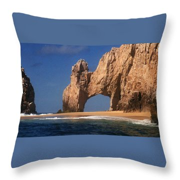The Arch Throw Pillow by Marna Edwards Flavell
