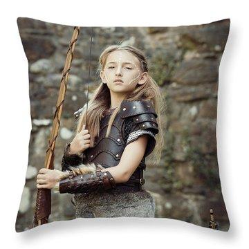 The Archer Throw Pillow