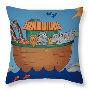 The Ark Throw Pillow