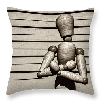 The Arrest  Throw Pillow by Bob Orsillo