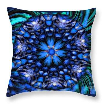 The Art Of Feeling Centered Throw Pillow
