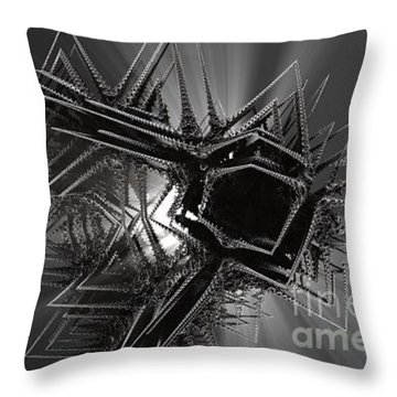 The Art Of Jack Frost Throw Pillow