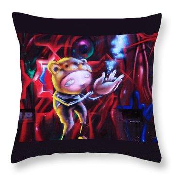 The Art Of Magic Throw Pillow