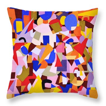The Art Of Misplacing Things Throw Pillow by Reb Frost