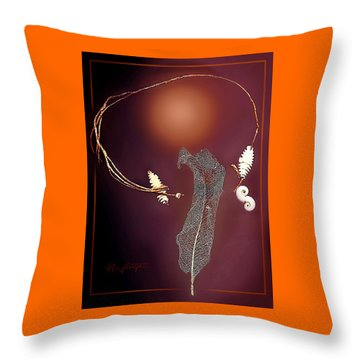The Art Of Nature Throw Pillow