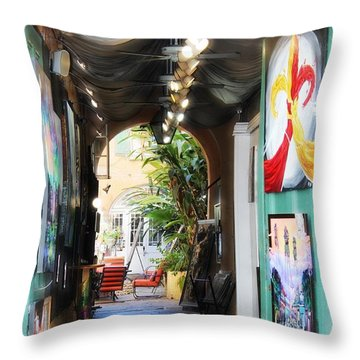 The Art Of New Orleans Throw Pillow