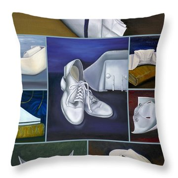 The Art Of Nursing Throw Pillow by Marlyn Boyd