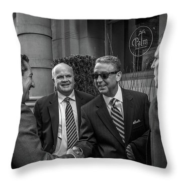 The Art Of The Deal Throw Pillow