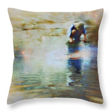 The Artist As A Boy Throw Pillow