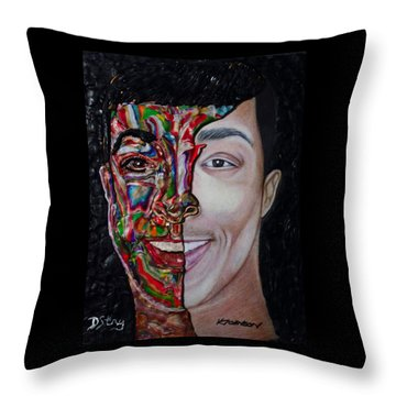 The Artist Within Throw Pillow