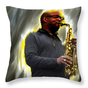 The Artist's Other Throw Pillow