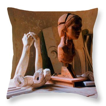 The Restoration Studio 3 Throw Pillow