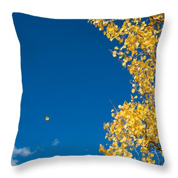 The Aspen Leaf Throw Pillow
