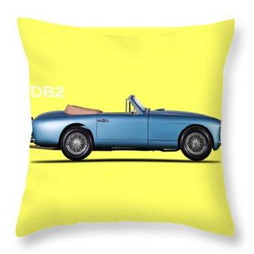 The Aston Db2-4 Throw Pillow