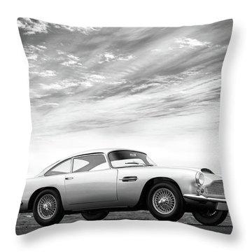 The Aston Db4 1959 Throw Pillow