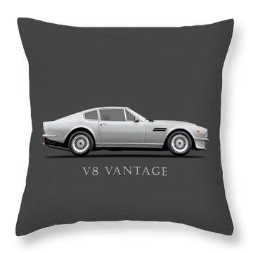 The Aston V8 Vantage Throw Pillow