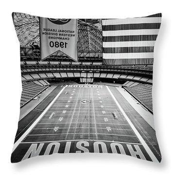 The Astrodome Throw Pillow