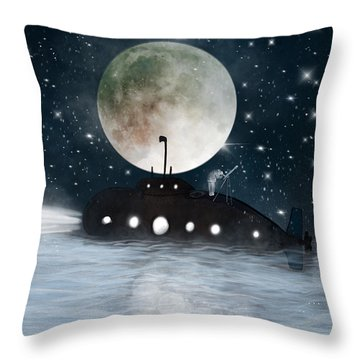 The Astrologer Throw Pillow