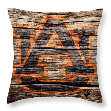 The Auburn Tigers 1a Throw Pillow