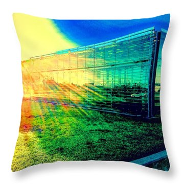 The Aura Of 5.4.7 Gallery Throw Pillow