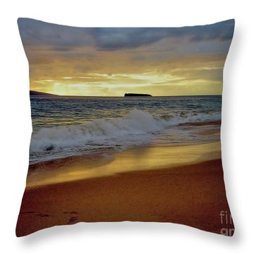 The Aura Of Molokini Throw Pillow