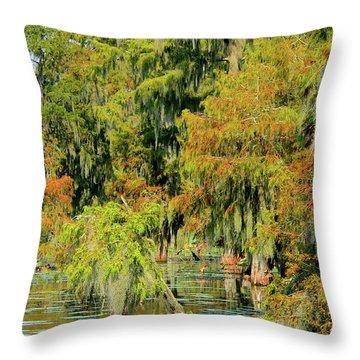 The Autumn Cometh Throw Pillow
