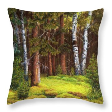 The Autumn Is Coming Throw Pillow