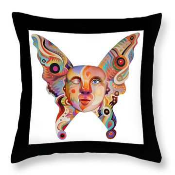 Throw Pillow featuring the painting The Awakening by Bob Coonts