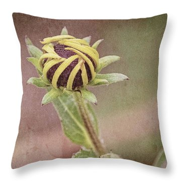 The Awakening Throw Pillow by Laurinda Bowling