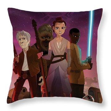 the Awakening Throw Pillow by Nelson Dedos Garcia