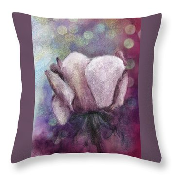 Throw Pillow featuring the painting The Award by Annette Berglund