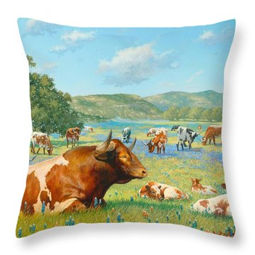 The Baby Sitter Throw Pillow