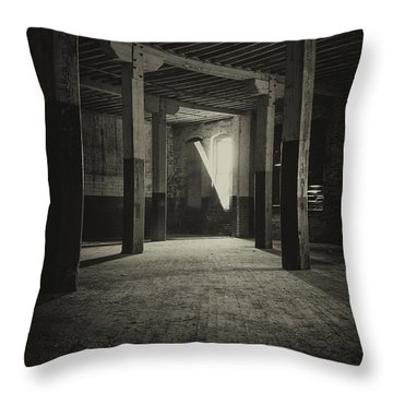 The Back Room Throw Pillow