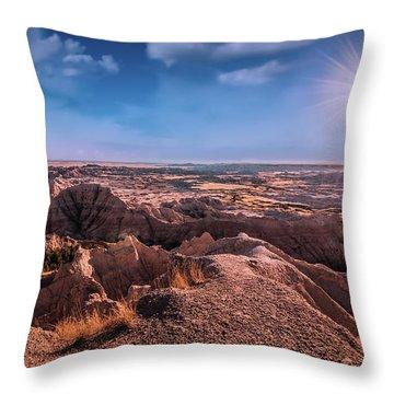 South Dakota Throw Pillows