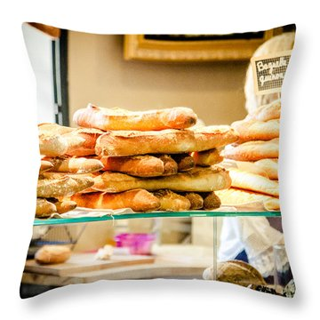 Throw Pillow featuring the photograph The Baker by Jason Smith