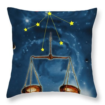 The Balance Of The Universe Throw Pillow