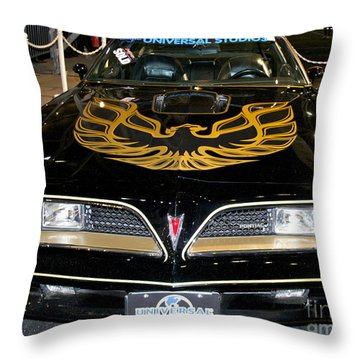 The Bandit Throw Pillow by Pamela Walrath