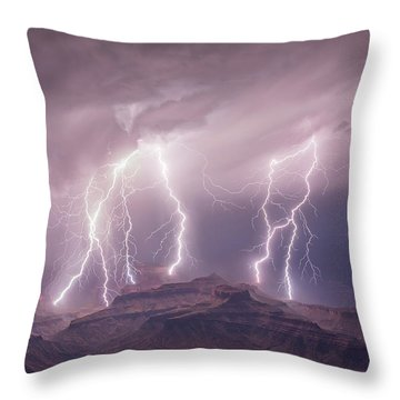 The Baragge Throw Pillow