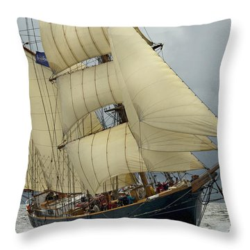 Tall Ships Race 2012 Throw Pillows