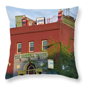 The Baseball Tavern Boston Massachusetts  -30948 Throw Pillow