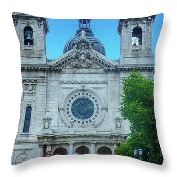 The Basilica Of Saint Mary Throw Pillow