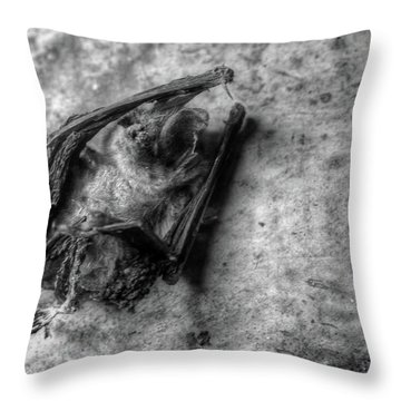 The Bat Throw Pillow