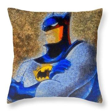 The Batman - Da Throw Pillow