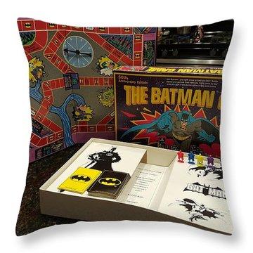 The Batman Game Throw Pillow