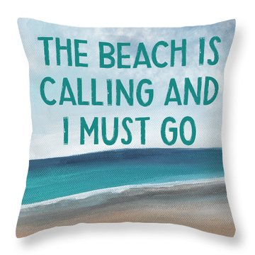 Coastal Quote Throw Pillows