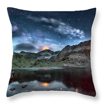 The Beacon Throw Pillow by Evgeni Dinev