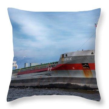 The Beatrix Throw Pillow
