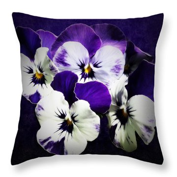 The Beauties Of Spring Throw Pillow