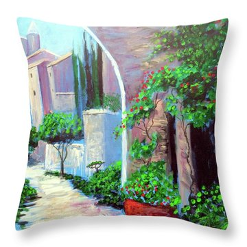 The Beautiful Way Throw Pillow