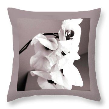 The Beauty Of Death Throw Pillow